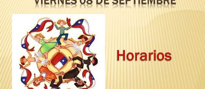 Peña Folklórica Viernes 08 de Septiembre