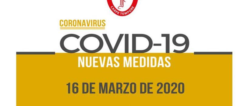 Informativo N° 1, Cuarentena por COVID – 19