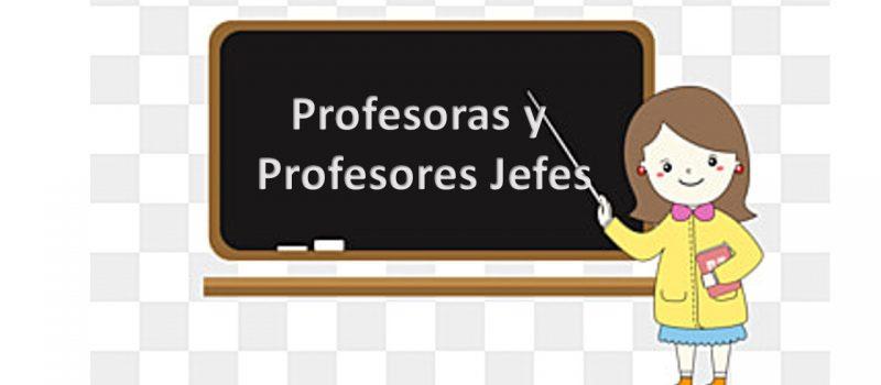 Profesores Jefes 2021